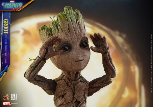 Hot Toys - GOTG2 - Groot Life Size Collectible Figure_PR23