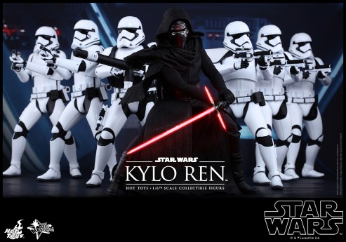 Hot Toys - Star Wars - The Force Awakens - Kylo Ren Collectible Figure_PR1