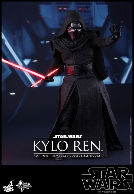 Hot Toys - Star Wars - The Force Awakens - Kylo Ren Collectible Figure_PR3