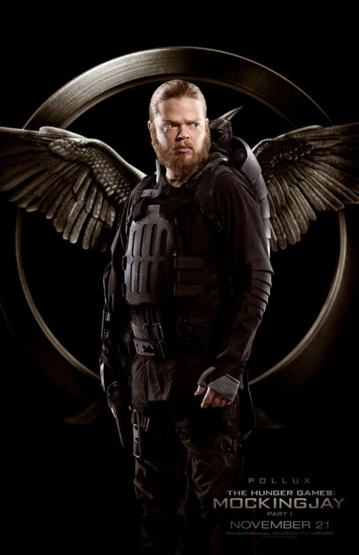 Hunger Games Mockingjay - Elden Henson as Pollux