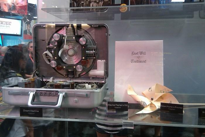Inception - Dream Machine and Maurice Fischer's Will