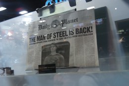 Superman Returns - 'Man of Steel' Newspaper