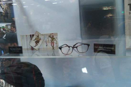 Superman Returns - Clark Kent's Eyeglasses and The Dark Knight - The Joker's Cards