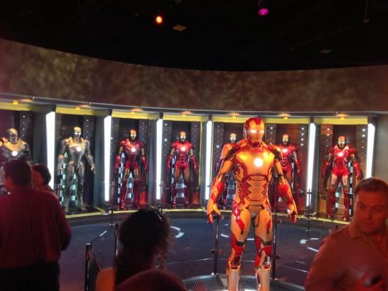 Iron Man Tech at Disneyland