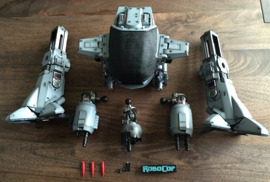 Hot Toys Robocop ED-209 Sixth Scale Figure compondents