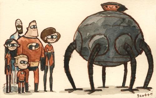 Incredibles - Scott C