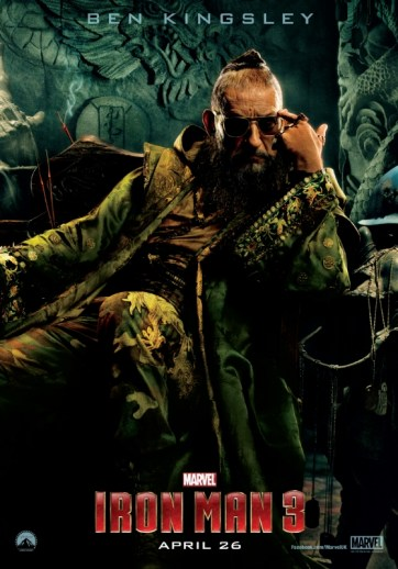 Iron Man 3 Mandarin poster