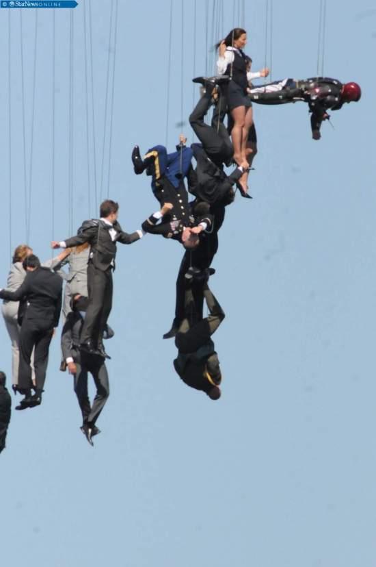 Iron Man 3 stunt people 2