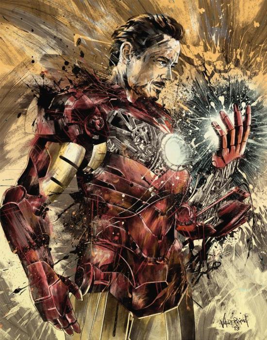 JP Valderrama - Iron Man