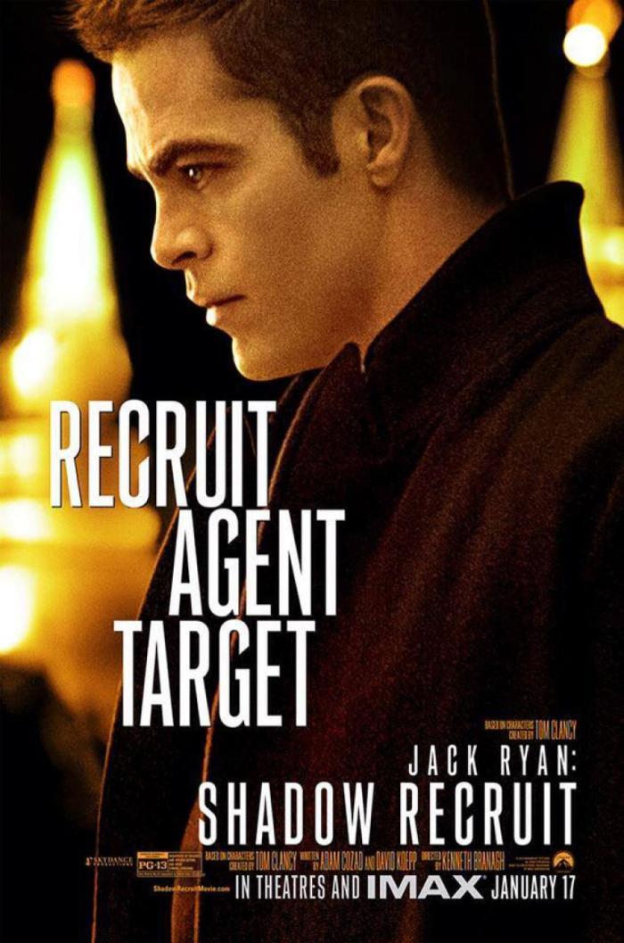 Jack Ryan Chris Pine poster