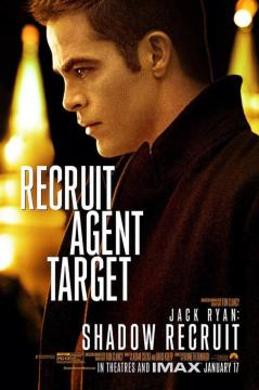 Jack Ryan Chris Pine poster