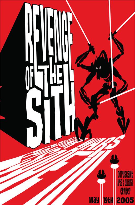 James Silvani Revenge of the Sith poster