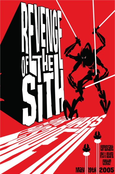 James Silvani Revenge of the Sith poster