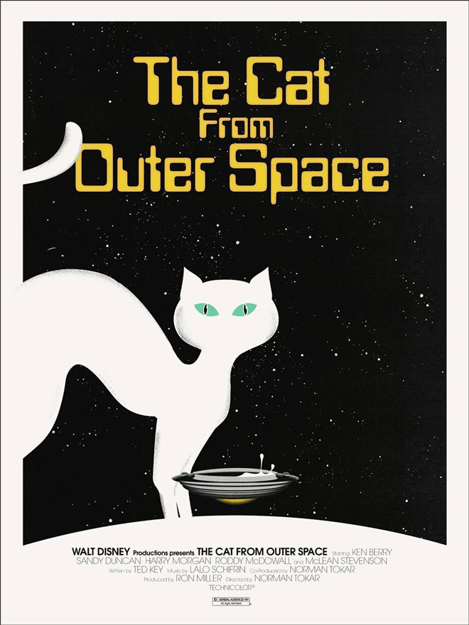 Jay Shaw - The Cat from Outer Space