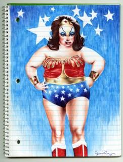 Jim Rugg - Divine Wonder Woman