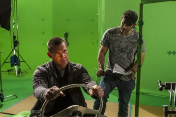 Josh Brolin Sin City BTS