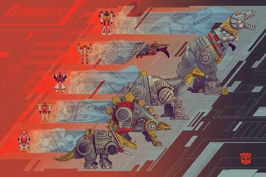 Kevin Tong - Dinobots