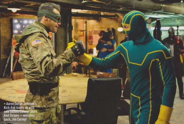 Kick-Ass 2 (Empire Magazine) - Colonel Stars and Stripes and Kick-Ass
