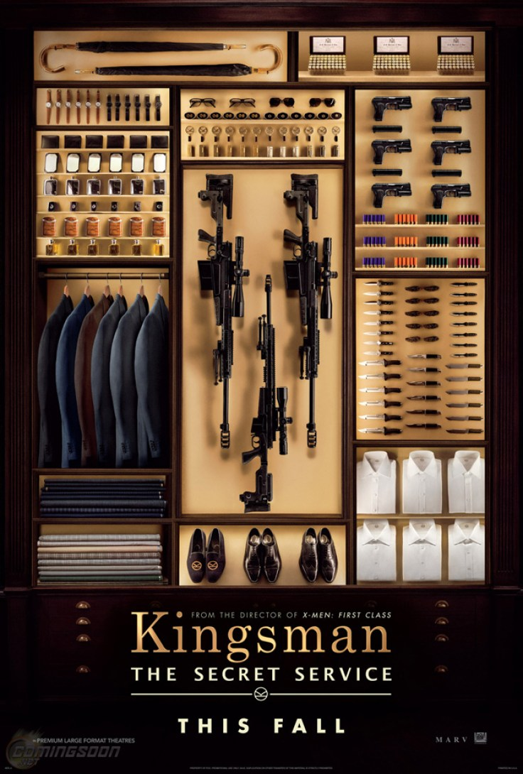 Kingsman The Secret Service poster