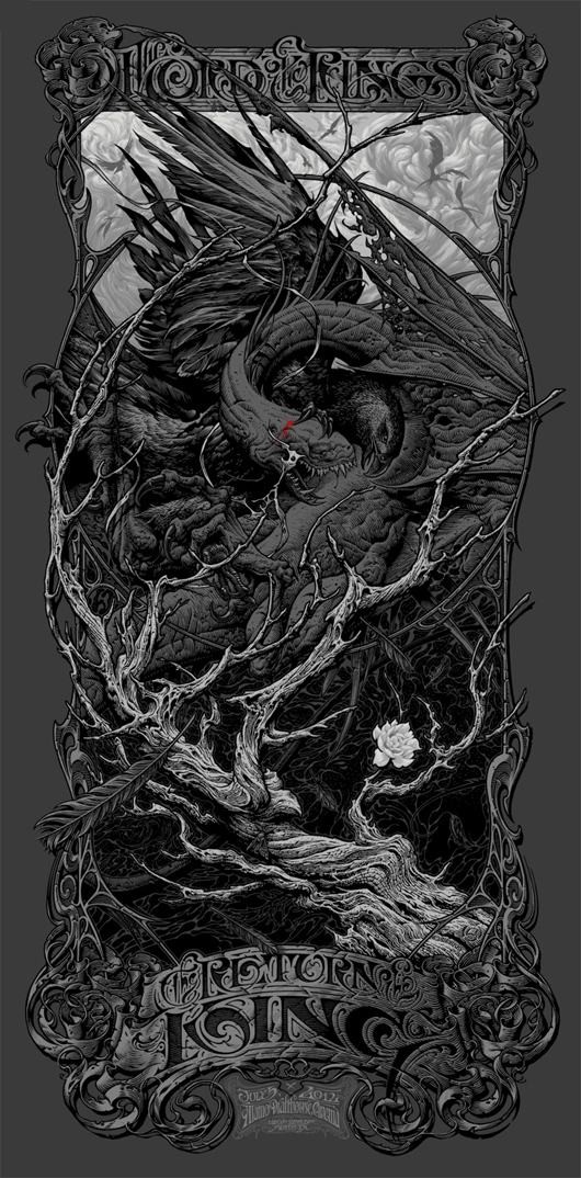 Aaron Horkey - Lord of the Rings Return of the King Variant