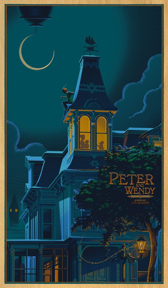 Laurent Durieux - Peter Pan Variant WOOD