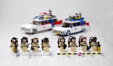 Lego Ghostbusters comparison 3