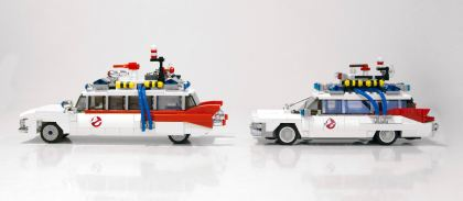 Lego Ghostbusters comparison 8