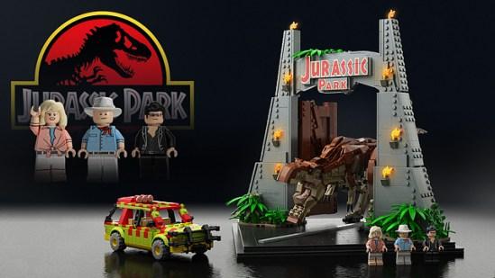 Lego Jurassic Park