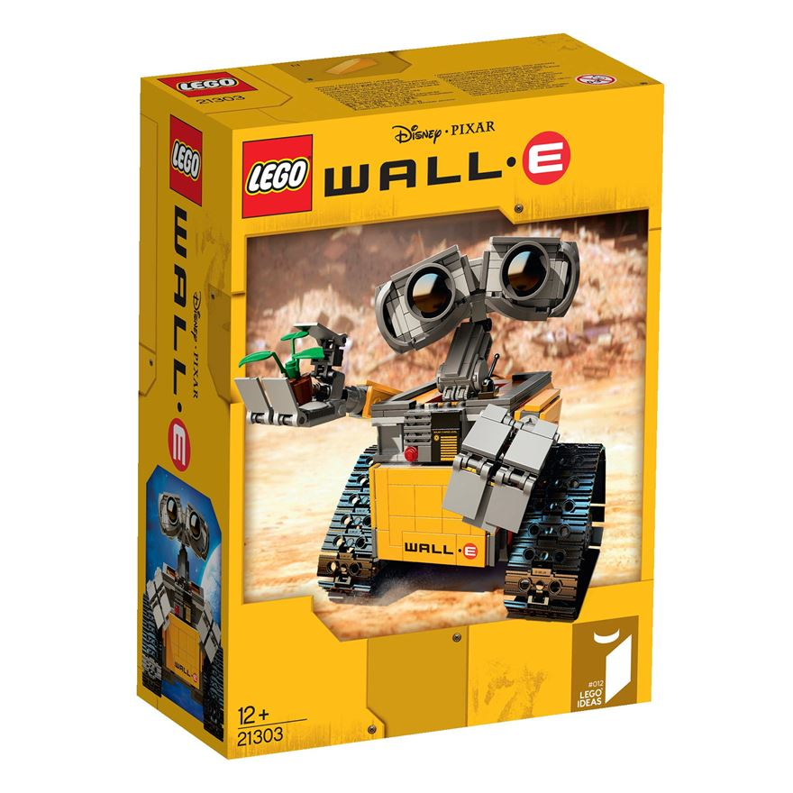 Zer0's Back: Hobby Talk: Lego Kit Review, Lego Idea's - Wall-E