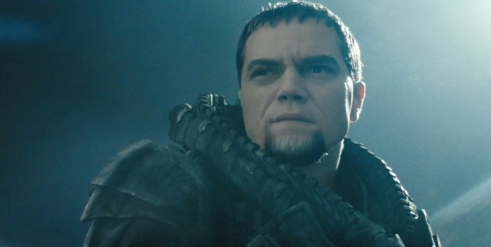 Man of Steel - Michael Shannon as General Zod