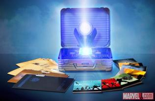 Marvel Cinematic Universe Box Set Open