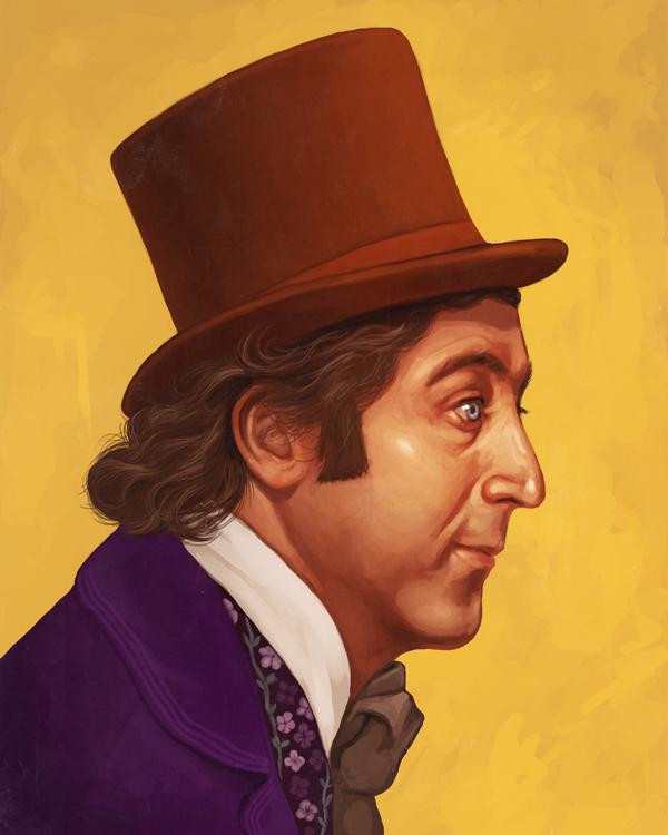 """Mike Mitchell """"Wonka"""""""