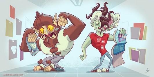 Monster Creeps - Glen Brogan