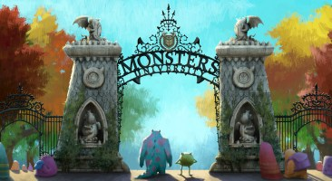 MONSTERS UNIVERSITY Concept Art 2
