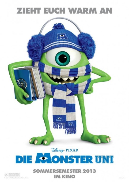 Monsters University - German poster