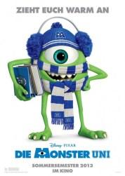 Monsters University - German poster