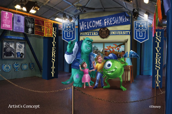 Monsters University Student Union
