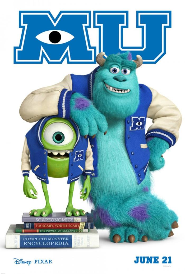 Monsters University Teaser