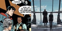 Neil deGrasse Tyson in Superman / SHIELD Helicarrier
