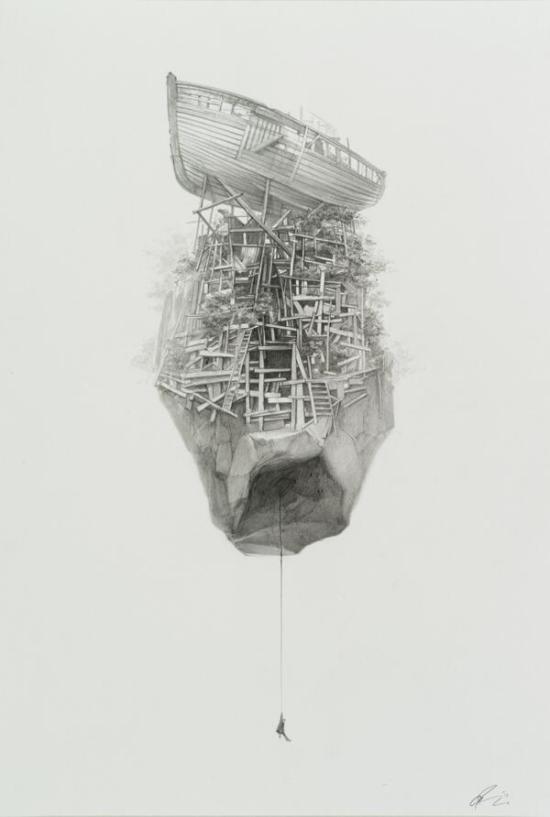 Noah art show - Greg Ruth