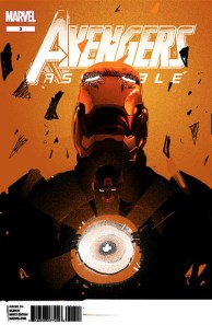 Olly Moss - Avengers cover rough