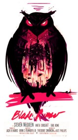 Olly Moss - Blade Runner rough