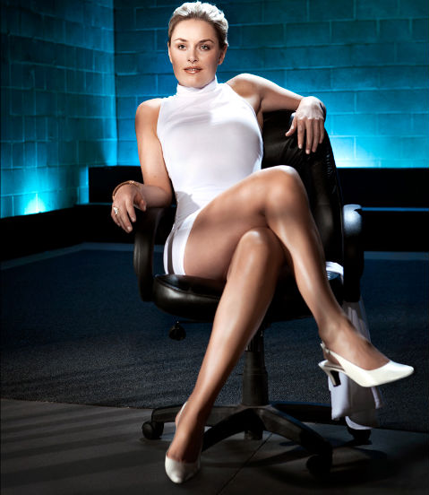 Lindsey Vonn in Basic Instinct
