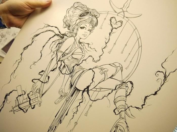 Alex Pardee - Sucker Punch Sketch 3