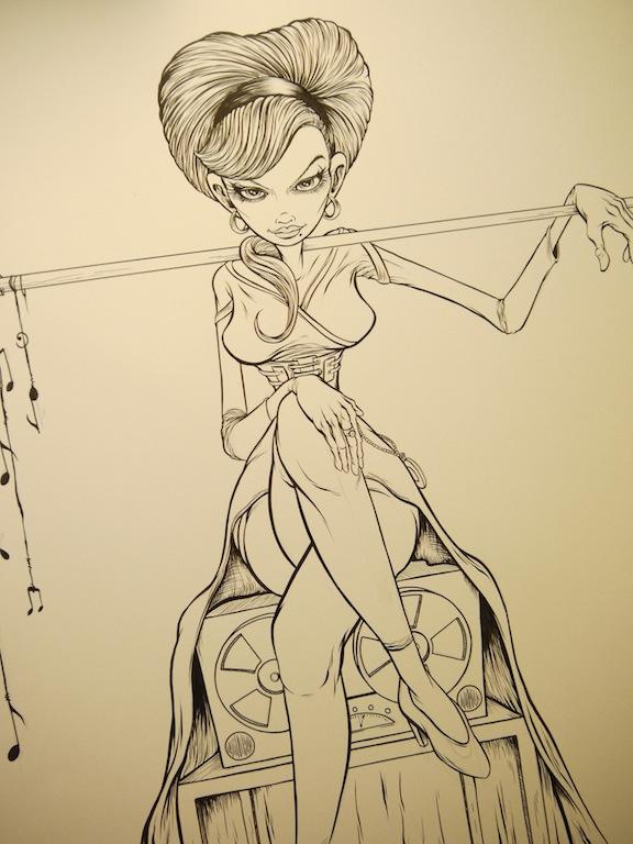 Alex Pardee - Sucker Punch Sketch 5