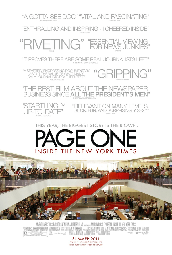 PAGE ONE-one-sheet