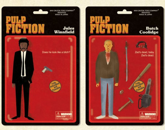 Max Dalton's Pulp Fiction Action Figures 1