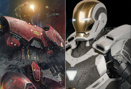 Pac Rim Iron Man armors