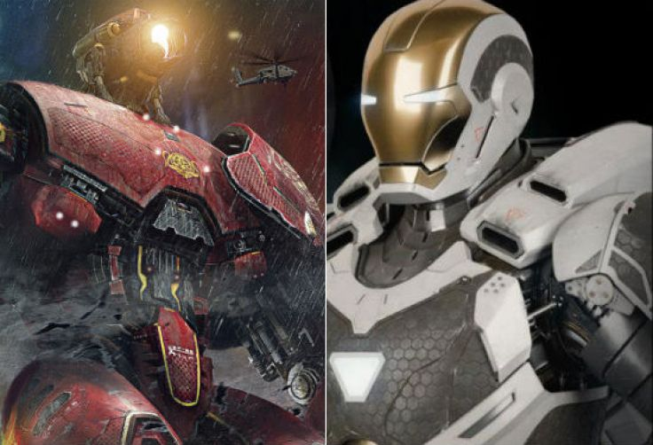 Pac Rim Iron Man armors