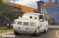 Planes Fire and Rescue Cad Spinner
